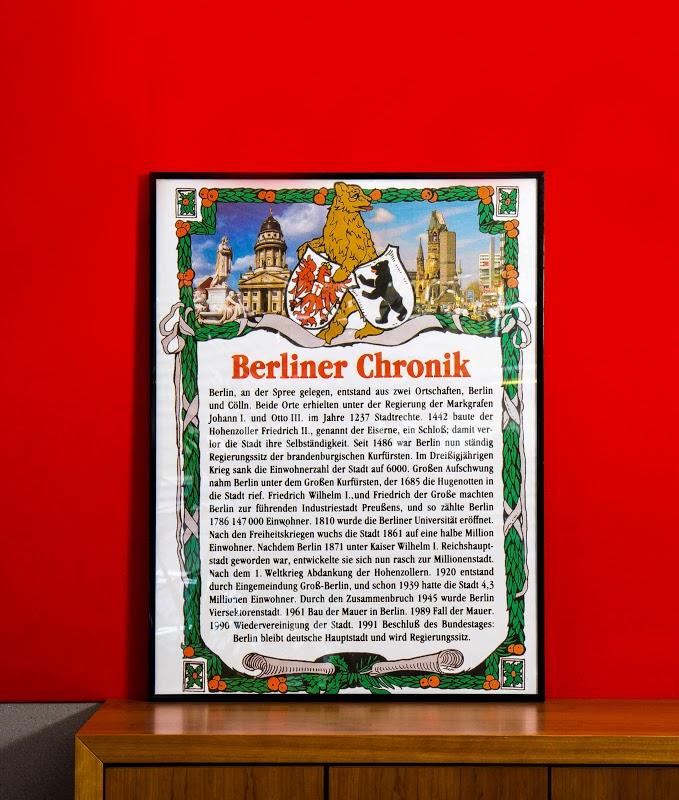 Omnicultura e.V. 25 Jahre Mauerfall Ausstellung - Eine historische Berliner Chronik
